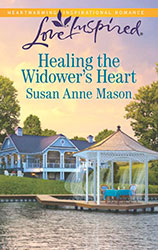 Book cover for Healing the widower's heart