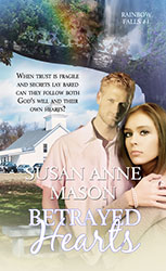 Book cover - Betrayed hearts